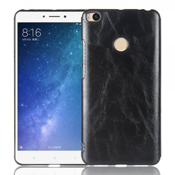Luxury Retro PU Leather Soft TPU Protective Case For Xiaomi Mi MAX 2