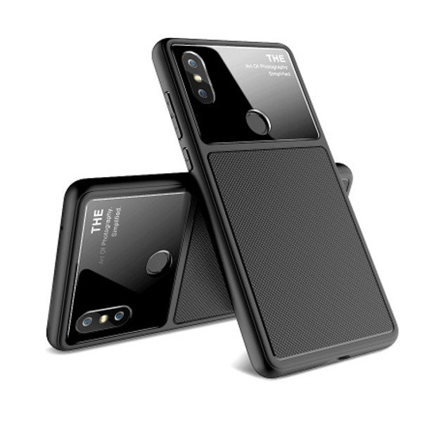 Bakeey Tempered Glass Lens Dissipating Heat Soft Silicone Thin Protective Case for Xiaomi Mi MIX 2S