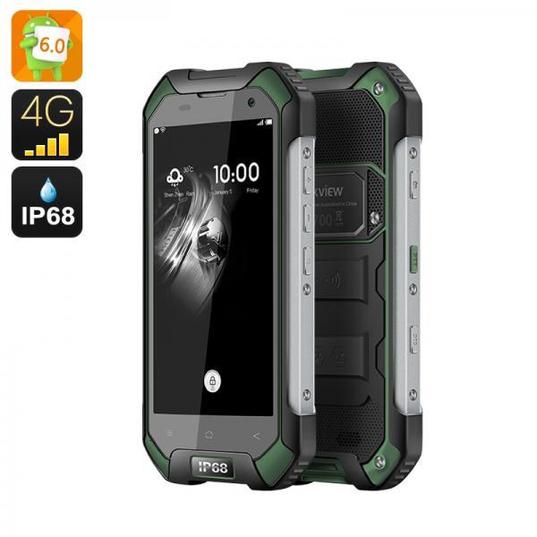 HK Warehouse Blackview BV6000S IP68 Smartphone - Android 6.0, IP68, 4G, 4.7 Inch Gorilla Glass, 4200mAh (Green)