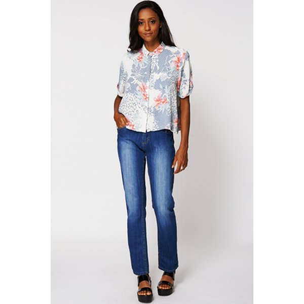 Washed Slim Leg 8930 Ex-branded Available in Plus Sizes -- 100% mix fibres --- select 'color' and 'size' in order remarks