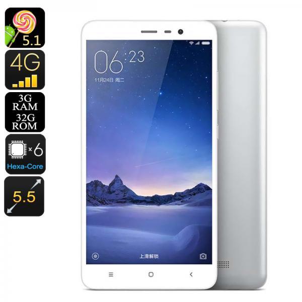 XIAOMI Redmi Note 3 Pro - 3GB RAM, Snapdragon 650 CPU, Dual SIM, 4G, Adreno 510 GPU, 16MP Camera, Fingerprint Scanner (Grey)