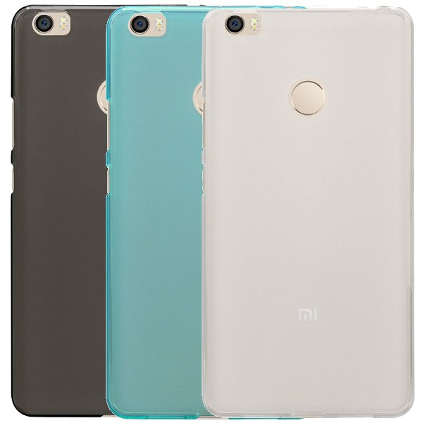Matte Pudding TPU Soft Back Case Cover For Xiaomi Mi Max