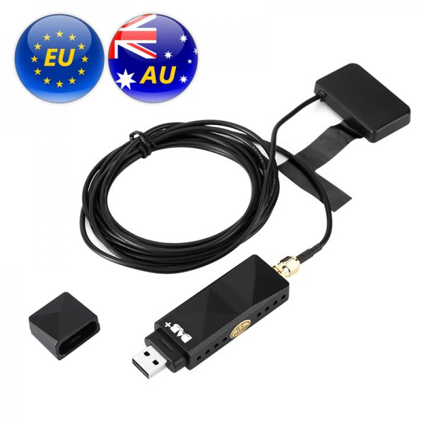 DAB Adaptor - Some EU and AU Regions, USB 2.0, Android Phone Compatible, App Control, Plug And Play, 95db SNR, 192kbps Decoding