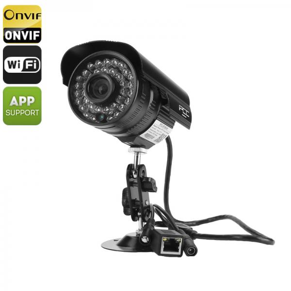 Wireless 720p IP Camera - 24 IR LED Nightvision, IR CUT, Motion Detection, Mobile Phone Support