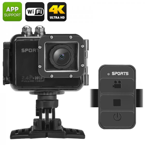 UHD 4K Wi-Fi Action Camera