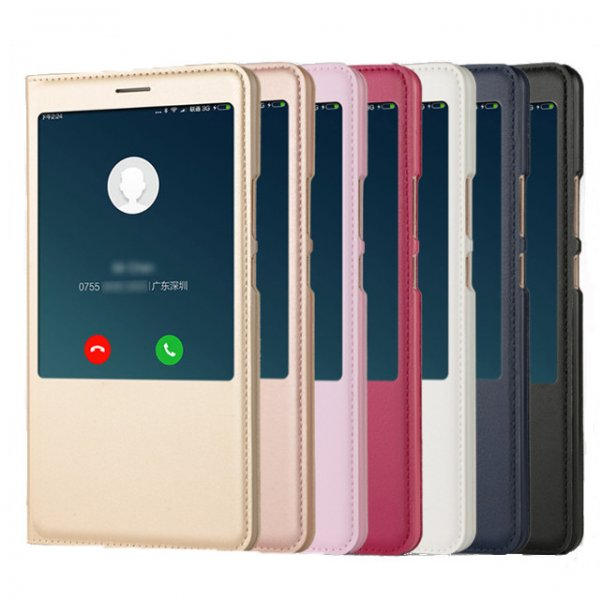 Bakeey Smart Window PU leather Flip Protective Case For Xiaomi Mi MAX 2