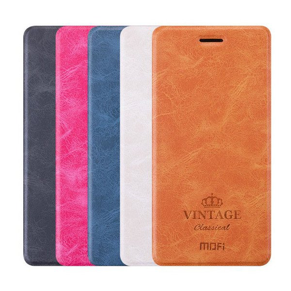 MOFI Flip PU Leather With Stand Card Holder Protective Case For Xiaomi Mi MIX 2