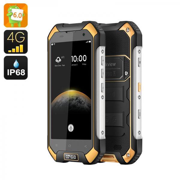 HK Warehouse Blackview BV6000S IP68 Smartphone - Android 6.0, Quad Core CPU, 2GB RAM, 4G, Dual SIM, NFC, OTG (Orange)