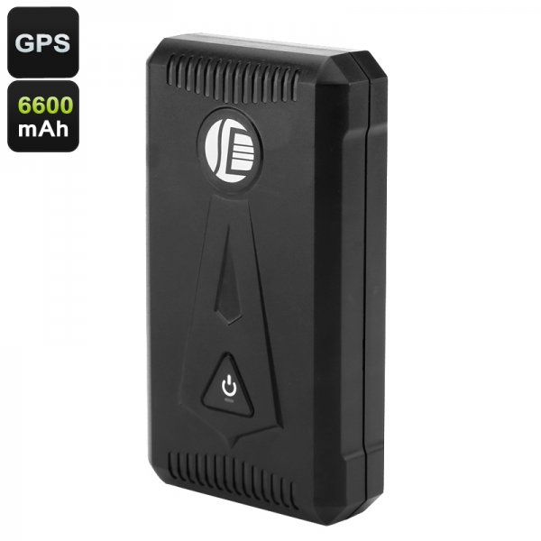 Vehicle GPS Tracking Device - Real-Time Tracking, Speed Alarm, Geofence, SOS Alarm, 3 Month Battery Life, Weatherproof