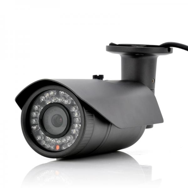 """Outdoor HD Security IP Camera """"Gamma II"""" - 720p, Motion Detection, WDR, Two Way Audio"""