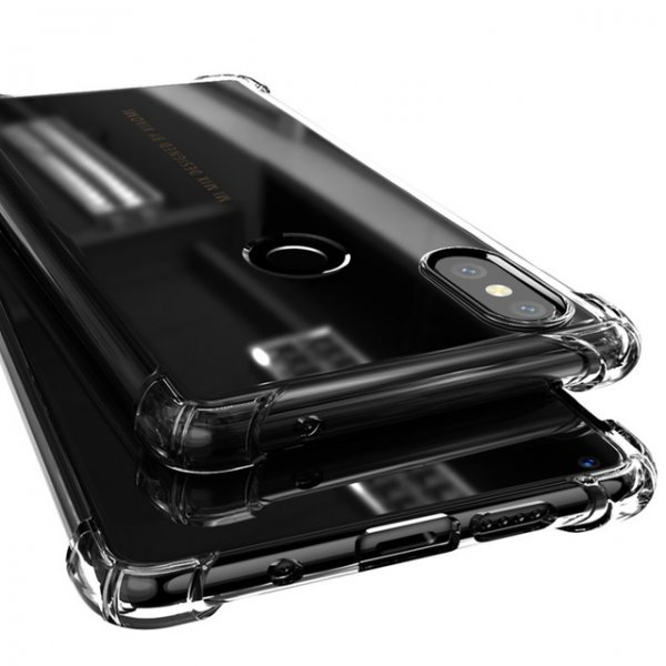 Bakeey Transparent Shockproof Soft TPU Protective Case For Xiaomi MIX 2S