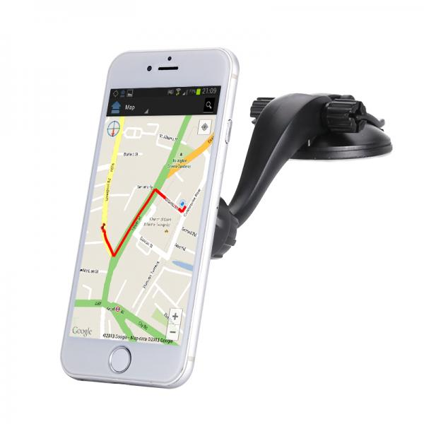 Vacuum Smartphone Holder - 360-Degree Rotation, Fit For All Phones, Plug And Play