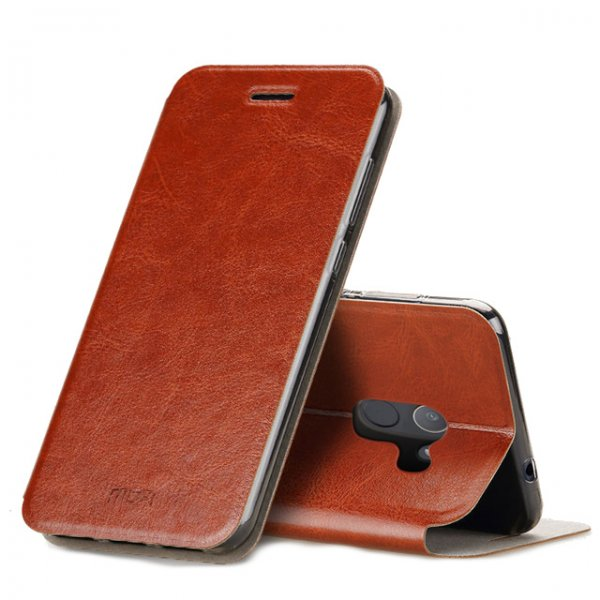 MOFI Classic Flip PU Leather Smart Sleep Stand Protective Case For Xiaomi Mi MIX 2