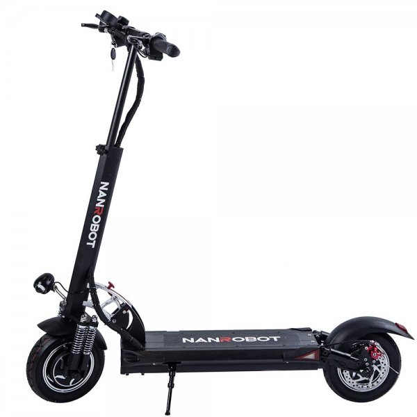 Qaba Battery Scooter Electric Folding High Speed Scooter 24V 4.5AH Blue