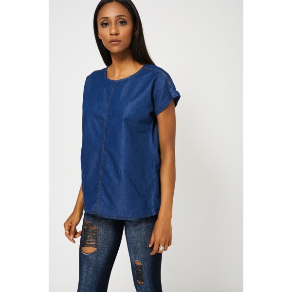 Blue Denim Look 9006 Ex-Branded -- 80% Cotton 20% Polymide --- select 'color' and 'size' in order remarks