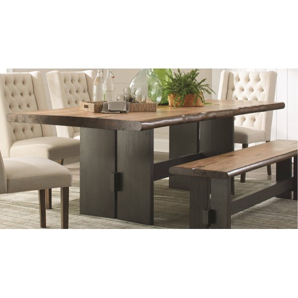 Coaster Furniture Marquette Live Edge Dining Table