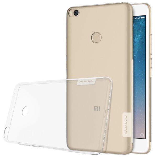 NILLKIN Clear Nature Transparent Soft TPU Case For Xiaomi Mi MAX 2