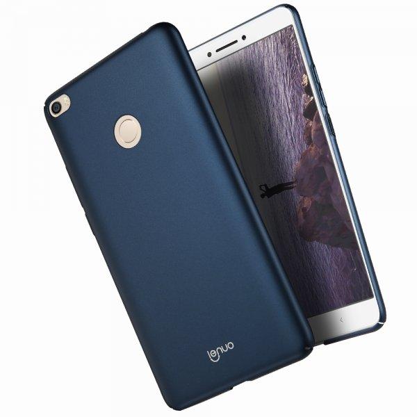 LENUO Ultra Thin Anti-fingerprint PC Hard Back Case For Xiaomi Mi MAX 2/ Mi MAX 2 Global Version