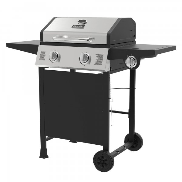 BBQ with 2 gas burner